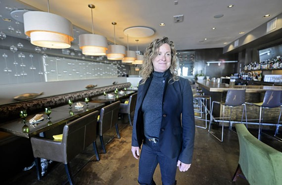 Acacia Mid-Town's Aline Reitzer drills past the menu to the details of her restaurant's atmosphere. Servers, music and lighting all are chosen carefully to create the optimal experience for diners.
