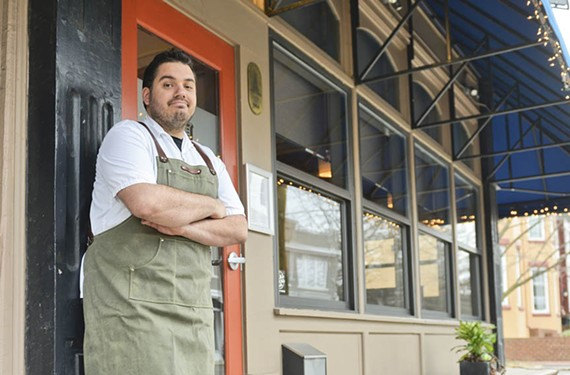 Heritage and Southbound's Joe Sparatta manages nine social media accounts for his restaurants.