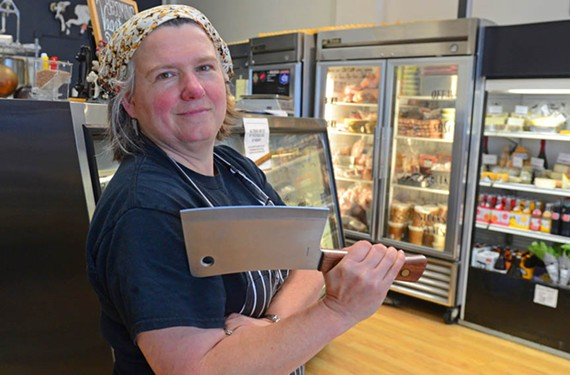 "Belmont Butchery's Tanya Cauthen will appear on Food Network's ""Chopped"" — although she had to leave her cleaver at home. The airdate is May 23 at 10 p.m."