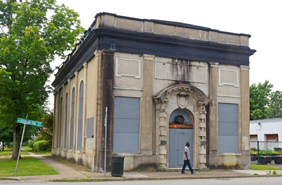 With Brookland Park Boulevard on the rise, some neighbors wonder about projects like the historic bank at Hanes Avenue, which received a $200,000 grant from the city in 2015 and has missed two rounds of deadlines since.
