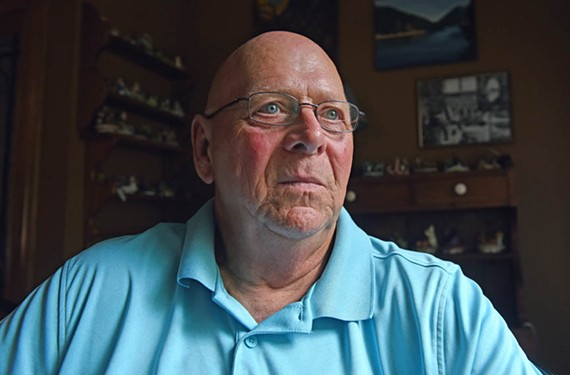 Al Driggers has been on several different opioid medications since beating leukemia 10 years ago. He worries he won't be able refill his fentanyl prescription, which keeps his pain at bay in light of new regulations meant to curb opioid overdoses.