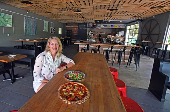 Owner Karen Verdisco has been pleased with the response to her Neapolitan-style pizza at Ashland's Pie Hole.