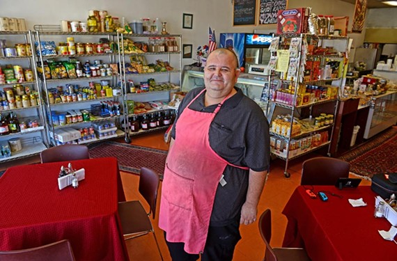 Adis Majkovic, owner of 2M Market & Deli in Dumbarton Square, is one of the few who've been able to grow their businesses after Martin's left area shopping centers.