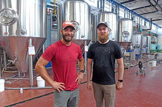 It's been a big project, but Väsen owners Tony Giordano and Joey Darragh are ready to open the doors of their brewery in the HandCraft Building in Scott's Addition.