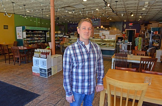 Branch & Vine owner Matt Fraker says the place will remain closed for only a short time after a small fire that happened last night.