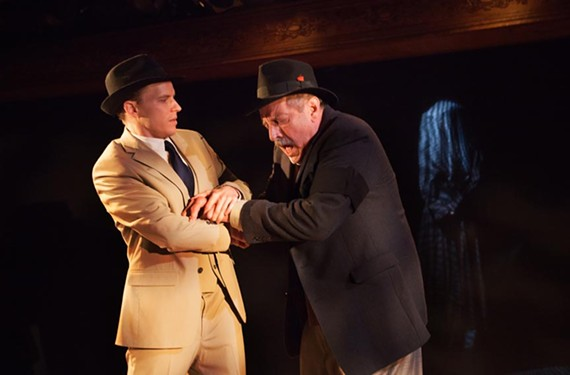 Both Matt Hackman, as the Actor, and Bill Blair as Arthur Kipps, give valiant performances in a play that has been running for years on the London stage.