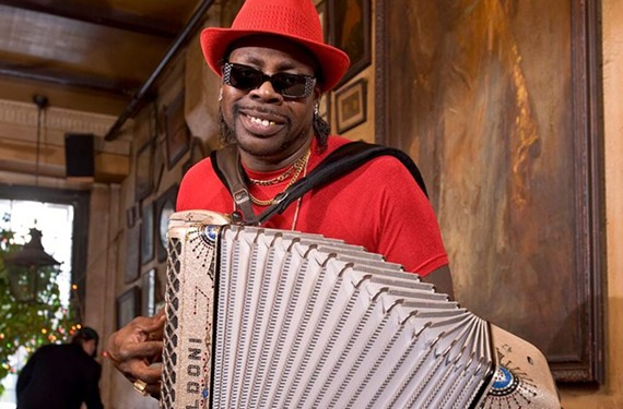 C.J. Chenier, Friday, Oct. 13.
