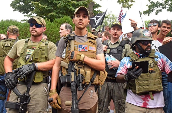 Virginia's open-carry law was fully on display at the Unite the Right rally in Charlottesville on Aug. 12.