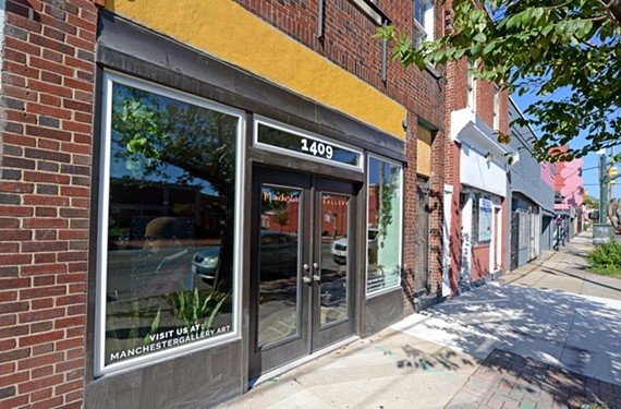 The new Manchester Gallery at 1409 Hull St. hopes to provide a space for artists who may have trouble getting their work in other, more established galleries.
