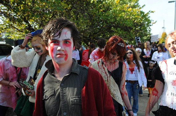 Carytown Zombie Walk, Saturday, Oct. 28.