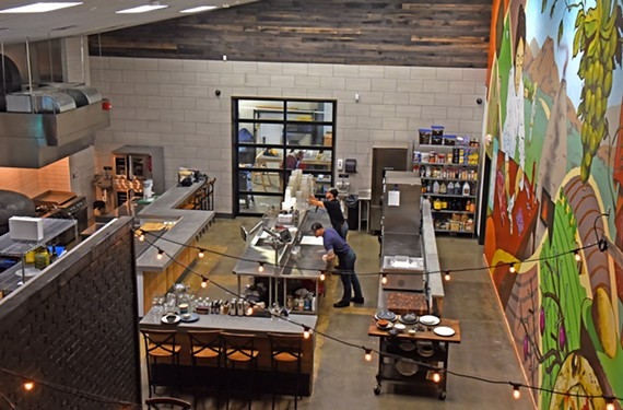 Tazza Kitchen takes its food to the next level with a spacious new research and development space and prep kitchen for all of its restaurants.