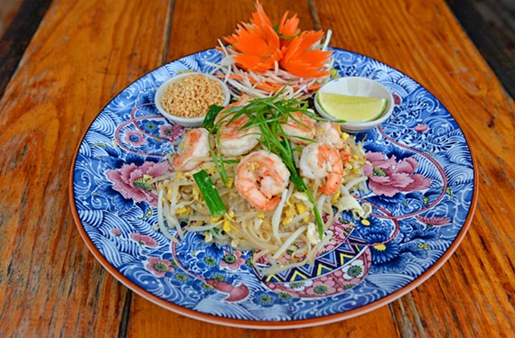 The pad thai at YaYa's Cookbook is of the best renditions of this classic dish in Richmond.
