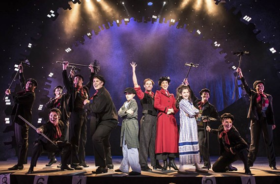 "Jack Hensley, Morgan Reynolds, Stacey Cabaj and Anya Rothman do an exceptional job as the main cast of the crowd-pleasing ""Mary Poppins"" at Virginia Repertory Theatre."