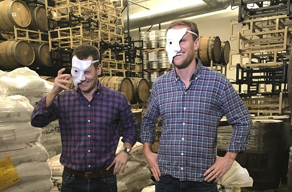 "Hardywood owners Eric McKay and Patrick Murtaugh are collaborating on a ""Phantom of the Opera"" brew with the Happy Hour Guys to be released in early 2018."