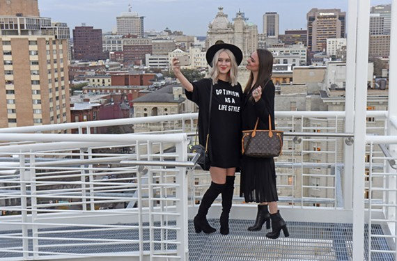 Catherine Pfab and Rebecca Ott created the fashion blog the Crystal Press, with an Instagram following of more than 42,000.