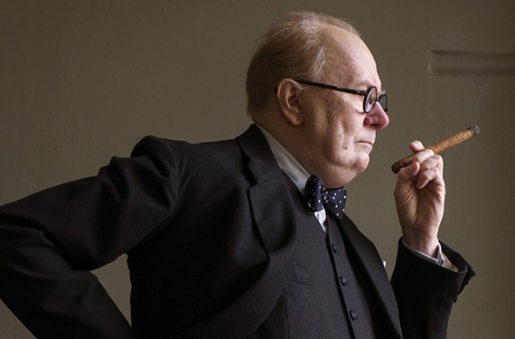 Gary Oldman, who won the Golden Globe for best actor Sunday, is an ideal match for the role of charismatic British statesman Winston Churchill.