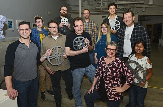 Family in Film: At a recent local filmmakers' forum, volunteers and James River Film Society members included Todd Starkweather, Coleman Jennings, Ken Hopson, Bobby Morgan, Jeff Roll, Jesse Tolj, Meghan Riley, Dokotah Coates, Jennifer Tarrazi-Scully, Mike Jones and Velma Jones.