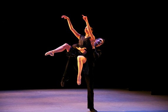 "Abi Goldstein and Mate Szentes in ""My Lost Melody"" by Mariana Oliveira"