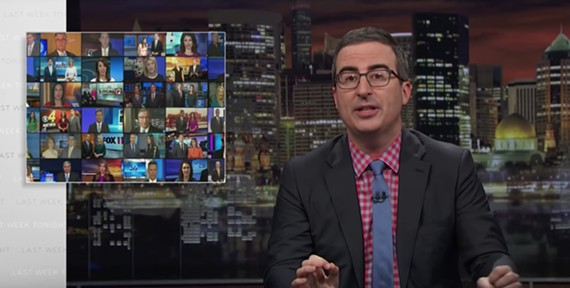 "A still from the ""Last Week Tonight"" segment on Sinclair that aired April 1 on HBO."