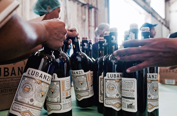 Lubanzi wine, produced in South Africa, is now available in Richmond-area grocery stores and the Boathouse restaurants.