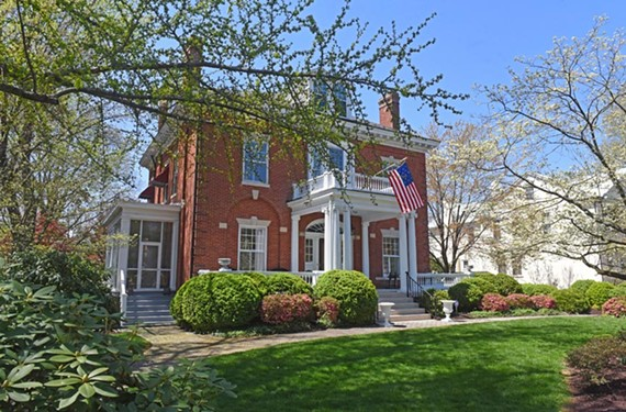 The colonial revival house at 3210 Seminary Ave. in Ginter Park is the home of Jennifer and Andrew Clark. The Watt family lived there for many years.