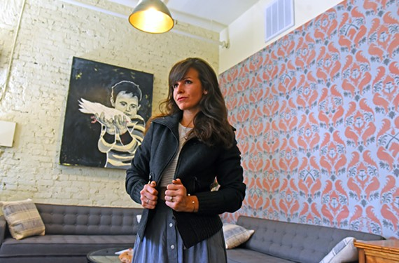 Whitney Asher, who is based in the Black Iris building, is making it her goal to help market bands of all levels.