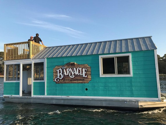 The Barnacle, a floating food boat that specializes in cones, will open May 1.