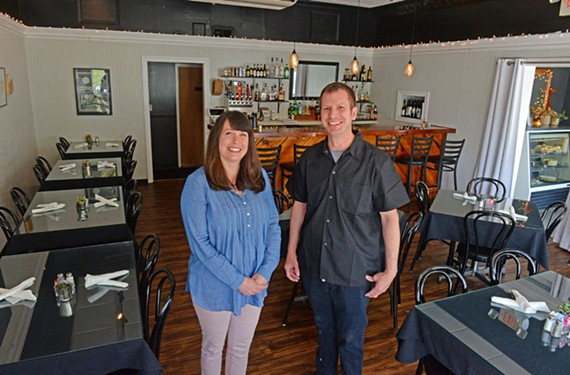 Kristin and Tracey Thoroman bought Hermitage Grill in November and re-branded the neighborhood restaurant as Hobnob.