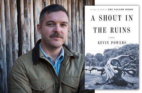 Chesterfield native Kevin Powers received widespread acclaim for his debut book about his time at war in Iraq. Now he's back with a book inspired by a murder that occurred in his home county.