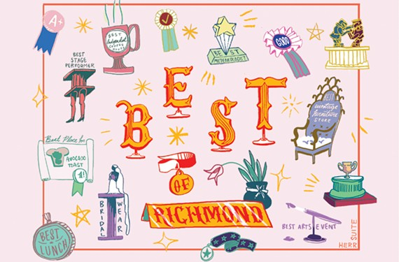 Style Weekly Best of Richmond 2018