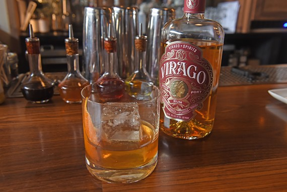 Monday evening, the Jasper hosted a private tasting featuring Virago Spirits' first rum blend.