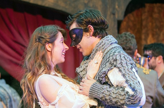 Claire Wittman as Juliet and Tyler Stevens as Romeo bring their characters back to earth in this energetic production at the Richmond Shakespeare Festival.
