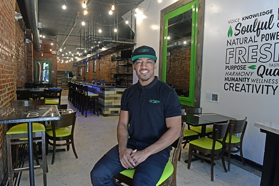 Jason Jackson will soon open NuVegan Cafe on West Grace Street.