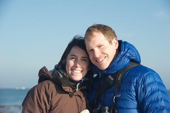 Sarah Portlock Fellman and her husband, Sam Fellman.