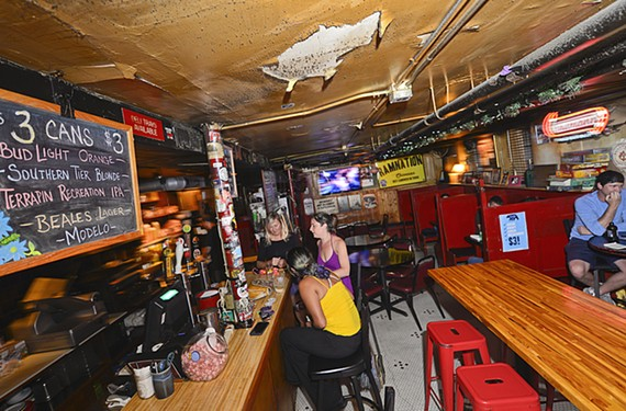 Neighborhood dive bars like Chiocca's have maintained their charm and appeal over the years.