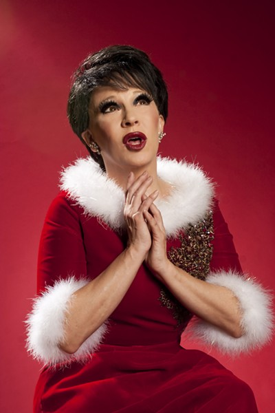 Connie Champagne brings her Judy Garland Christmas show in December.