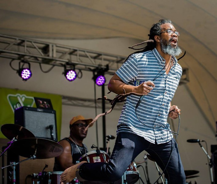 Richmond's reggae ambassador, Mighty Joshua - MELISSA BRUGH