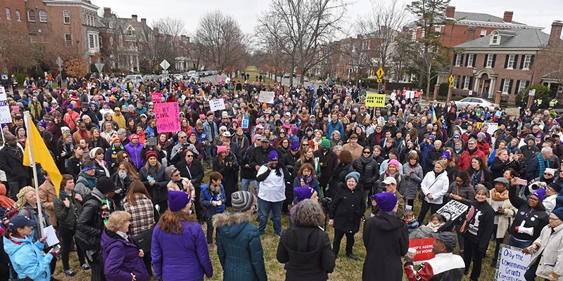 2017 Richmonder of the Year March on Monument.