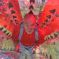 Photos of the Year Elvin Click, 57, owner of Knockerball, which was an attraction at the 2016 State Fair. On the opening Saturday of the fair, 850 people enjoyed the tumbling inside the oversized plastic ball.
