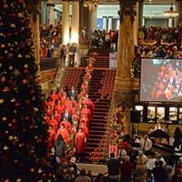 Jefferson Hotel Christmas Tree Lighting