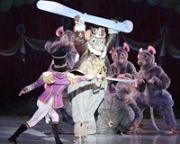 "The Rat King discusses what it's like being the regal rodent in Richmond Ballet's ""The Nutcracker"""