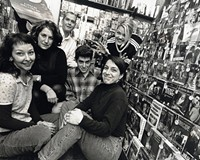 Video Fan, a popular Richmond institution at 403 Strawberry St., closed its doors after 31 years in 2017. Years earlier its employees posed for this undated photo: From left: Allyson Rainer, Louise Bach, Jim Andre, Gus Posey, Paula Demmert and Marie Sirotniak (standing).