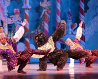 "Ronald Wagstaff, Trevor Davis, and Anthony Oates in ""The Nutcracker"" by Stoner Winslett"