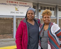 Tyra Gallagher and her mother, Renée Truehart, are opening Darrell's Family Supermarket in the former FoodRite at 5118 Richmond-Henrico Turnpike.