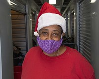 Rhonda Sneed is co-founder and volunteer leader for Camp Cathy, a tent city for the homeless that sprung up across the street from the Richmond Justice Center on Oliver Hill Way and was dismantled in March.