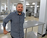 Hatch co-founder and executive director Austin Green  plans to open a food hall this spring in Manchester.