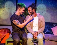 "Evan Nasteff and Andrew ""Rou"" Reid star in ""This Bitter Earth"" which runs until Feb. 19 at the Robert B. Moss Theatre."