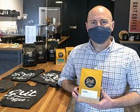 Grit Coffee owner Dan FitzHenry.