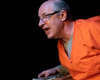 """Doug Blackburn stars in the one-man show """"Walled In"""" at the Firehouse Theatre."""