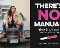 """""""There's No Manual: Honest and Gory Wisdom About Having a Baby"""" author and illustrator Jackie Ann Ruiz."""